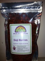 Goji Berries (Organic) 12 oz.