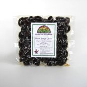 Mixed Black and Red Botija Olives from Peru 8 oz.
