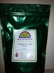 Organic Wheatgrass Juice Powder 8 oz.