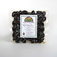Black Botija Olives (Organic, Dried and Pitted)